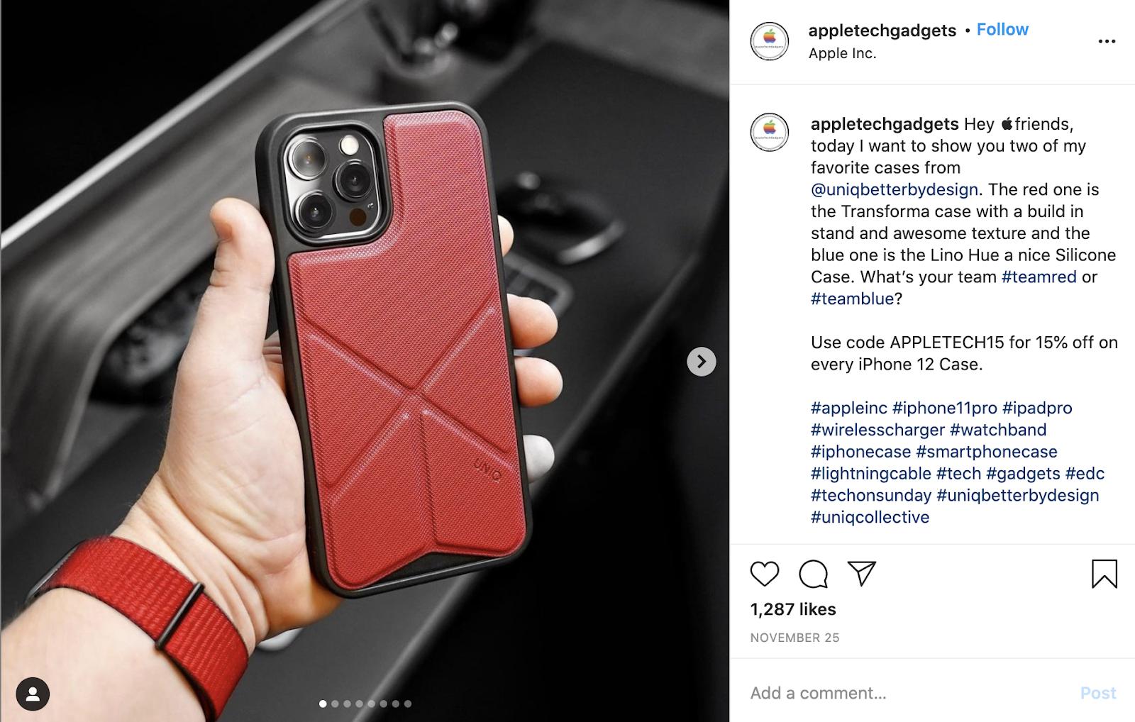 instagram post ideas tech