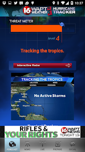 Hurricane Tracker 16 WAPT News- screenshot thumbnail
