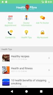 Health Fibre - Your health your choice - náhled