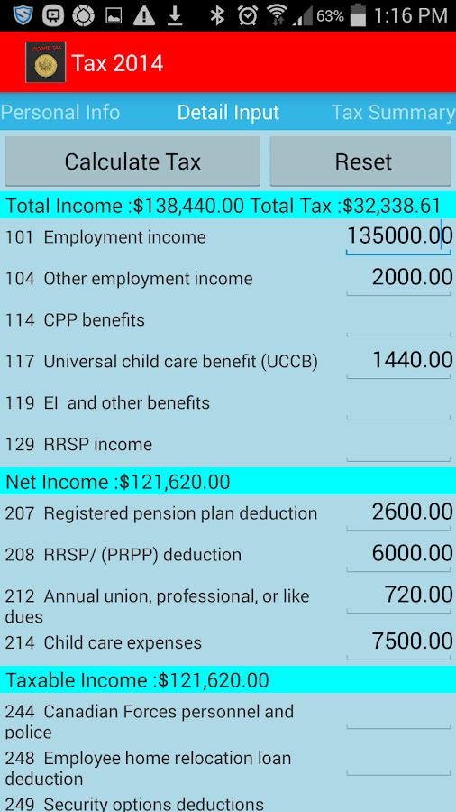 Estimated Tax Refund Calculator
