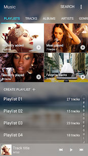 Samsung Music Screenshot