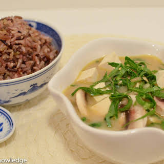 Thai Coconut Soup.
