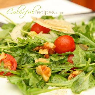 Fresh Arugula Salad.