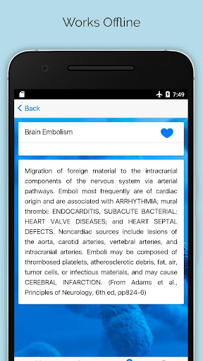 Medical Dictionary screenshot for Android