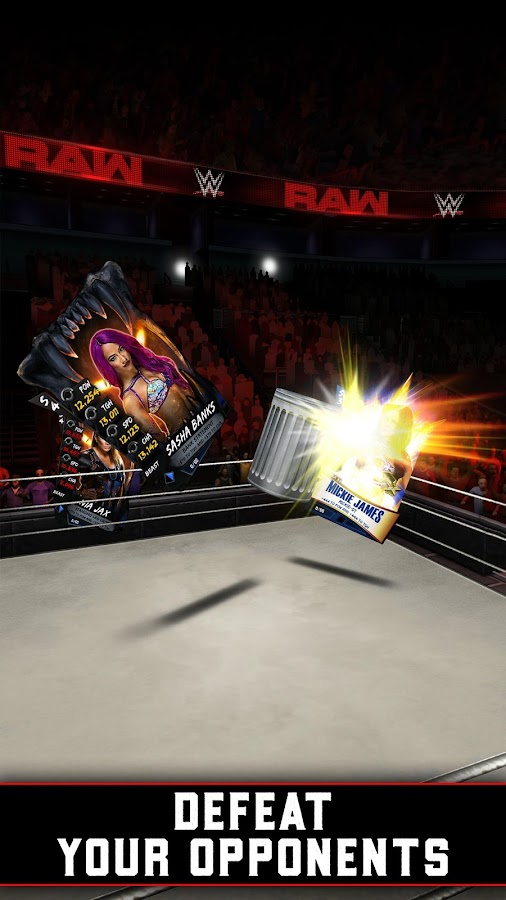 WWE SuperCard – Multiplayer Card Battle Game- screenshot
