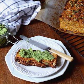 "Savoury Veggie Loaf (aka Paleo ""bread"")."