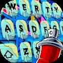 Street Graffiti Cool Keyboard Theme icon