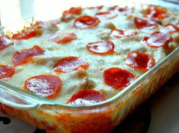 Pepperoni Pizza Casserole Recipe