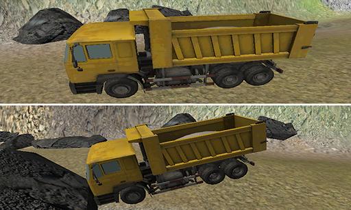 現代の輸送トラックの運転手