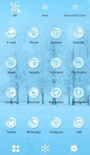 Tải Game Hình nền xinh xắn Snow Tree