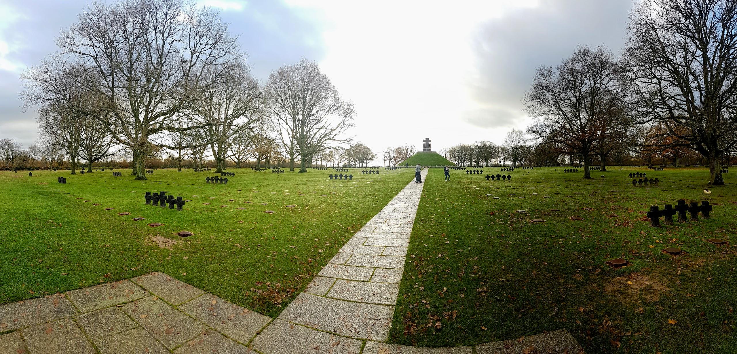 Desembarco de Normandía. Cementerio Alemán de La Cambe