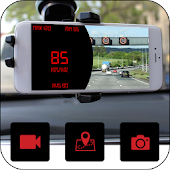 Speedometer Dash Cam: Car Video Recorder App
