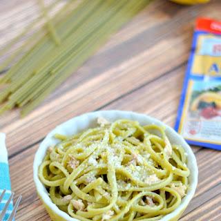 Lemon Tuna Linguine