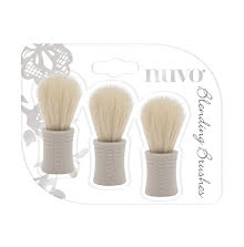 Tonic Studios Nuvo Blending Brushes 3/Pkg 970N