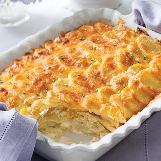 Scallop Potatoes With Heavy Cream Recipes.