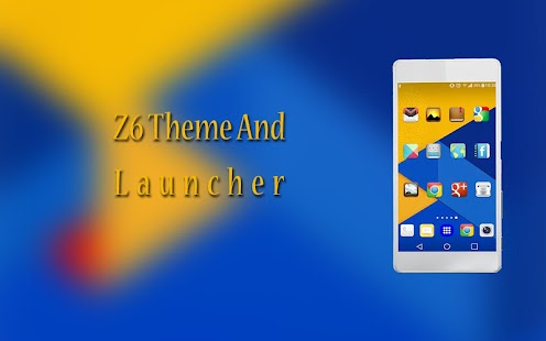 Z6 launcher and theme - náhled