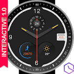 Watch Face -Ticker-Interactive Icon