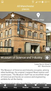 Science Places Manchester- screenshot thumbnail