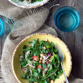 Pulled Pork & Chickpea Salad
