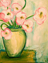 Photo: ´Spring Flowers´ 11 x 14 inches, acrylic on canvas