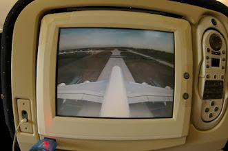 Photo: Vue view bird avant décollage
