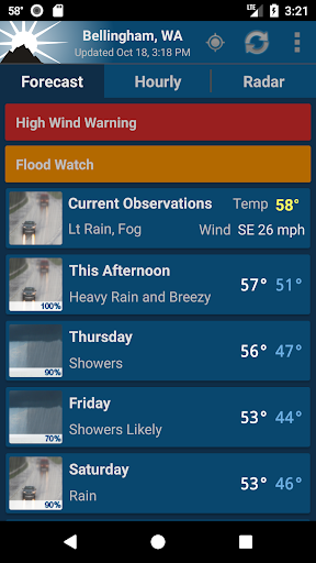 NOAA Weather Unofficial screenshot 1
