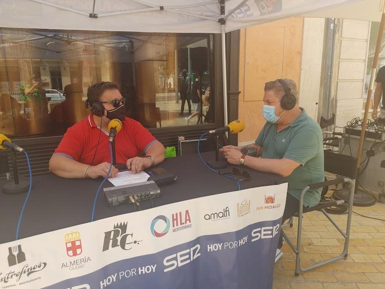 El concejal de Cultura del Ayuntamiento de Almería, Diego Cruz