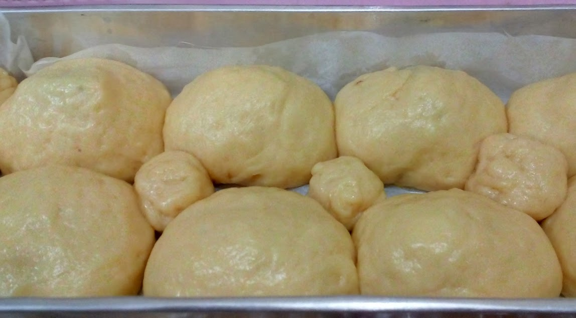 Diamkan adonan roti selama 30 menit