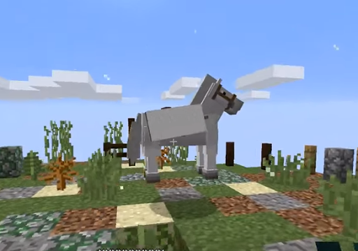 Simply Horses Mod for MCPE