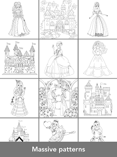 Princess Coloring Books Screenshot Thumbnail