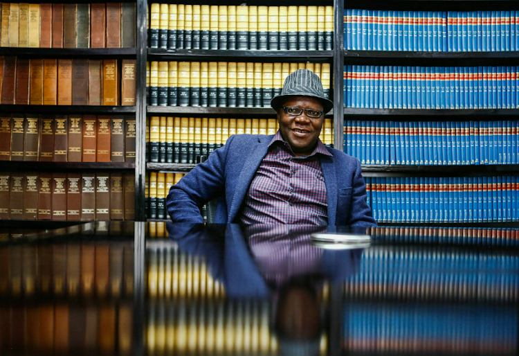 Tendai Biti pictured in November 24, 2017