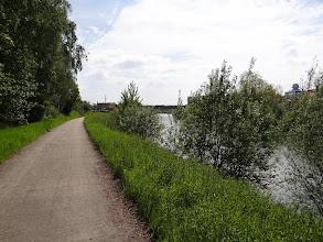 Photo: Le Ravel 8A le long du canal du Centre, vers Mons