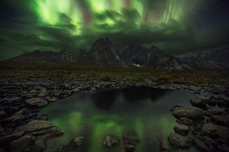 Photo: Here is some more aurora action from Tombstone Provincial Park in the Yukon.