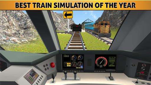 슈퍼 구동 트레인 시뮬레이터 : 기차 레이스
