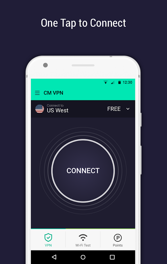 CM Security Open VPN - Free, fast unlimited proxy- screenshot