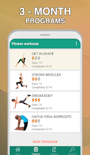 Fitness workouts for women – your coach & trainer 2.3.2 Download Mod Apk 2