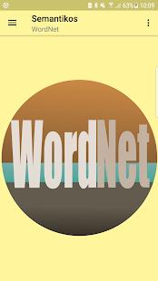 Semantikos-WordNet - náhled