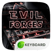 Evil Forces Go Keyboard Theme
