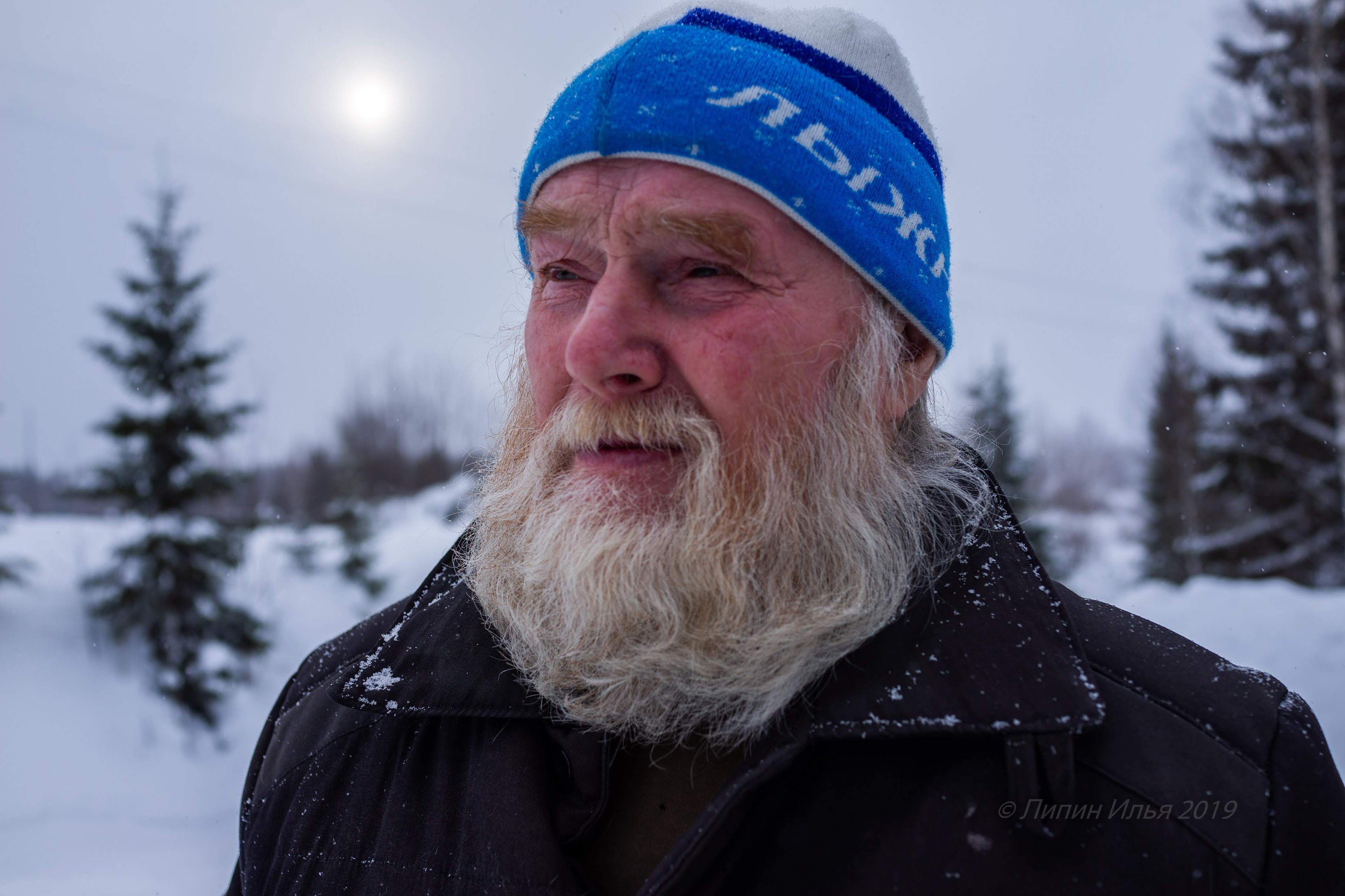 Владимир Иванович Чагин, житель деревни Урцева.