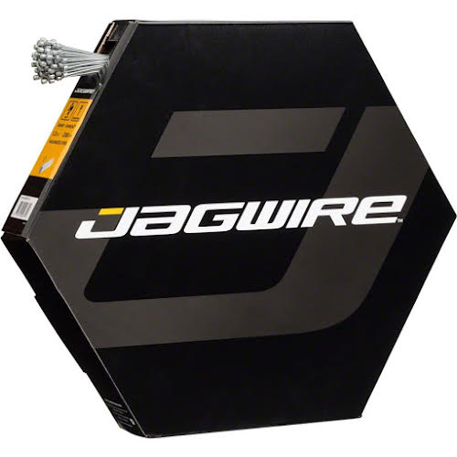 Jagwire Basics Derailleur Cables, Box/100 Galvanized 1.2x2300