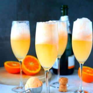 Orange Sherbert Mimosas.