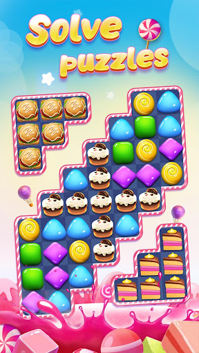 Code Triche Candy Charming - 2019 Match 3 Puzzle Free Games APK MOD screenshots 4