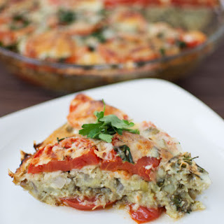 Eggplant Tomato Onion Pie Recipes