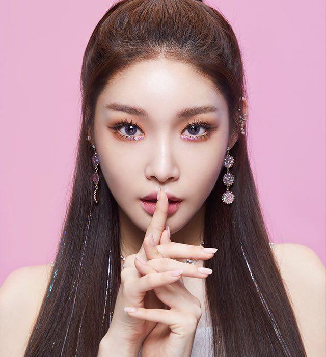 chungha makeup 4