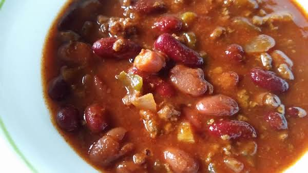 Not Too Hot Chili Recipe