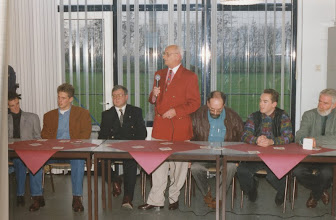 Photo: Bestuur vv Vuren jaren 90