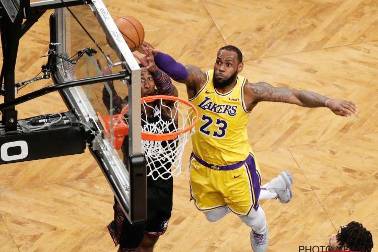LA Lakers halen het met zeer klein verschil van Memphis Grizzlies, Brooklyn Nets halen uit tegen Utah Jazz