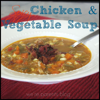 Spicy Chicken Vegetable Soup Recipes.