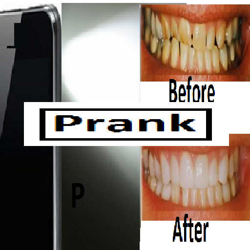 Teeth Whitening torch prank
