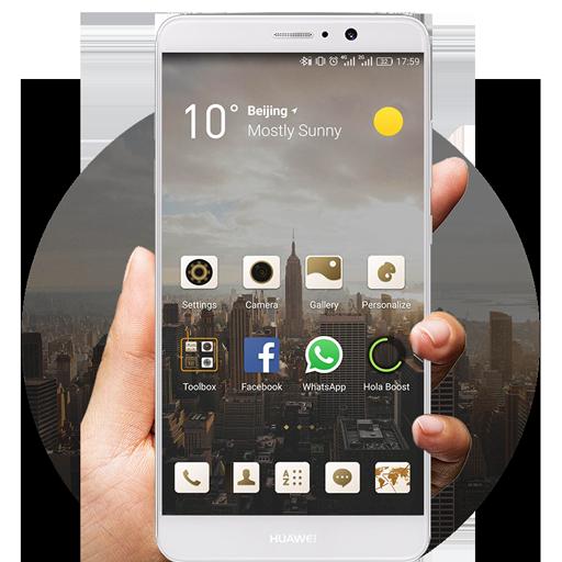 White Huawei Mate9